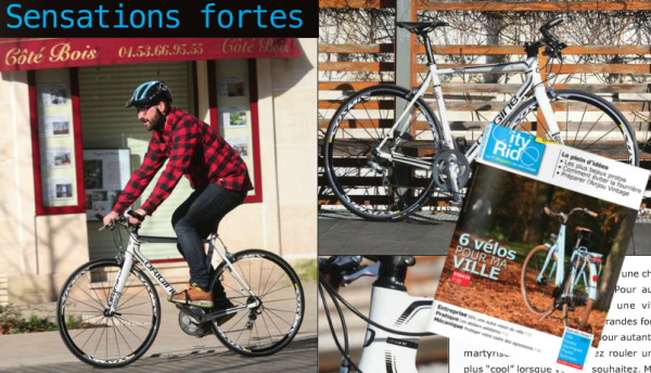 City Ride N°23 Test Axxome 250 Fitness