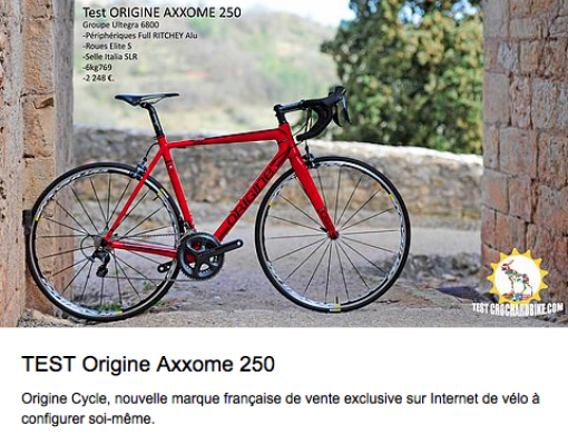 Crochard-bike.com Test Axxome 250
