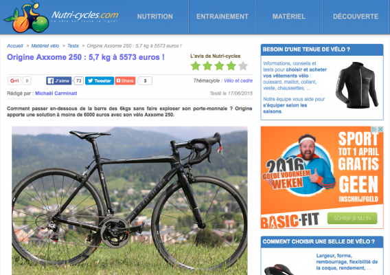 Nutri-cycles.com Test Origine Axxome 250 LR49+