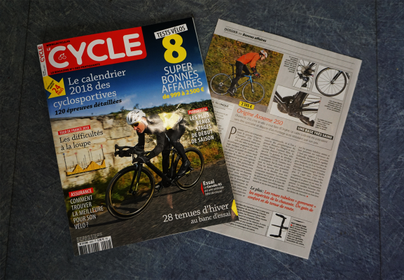 Test de l'Axxome 250 par Le Cycle N°490