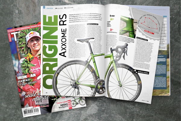 Triathlete Magazine N°354 Test Axxome RS