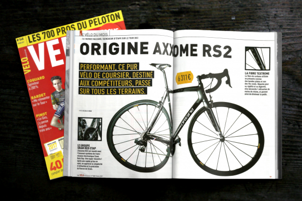 Velo Magazine - Test Axxome RS2