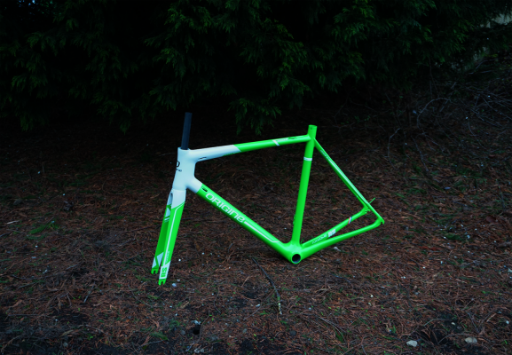 Axxome RS2 - Vert Lime -Blanc Summit