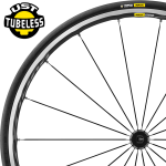 Mavic Ksyrium Elite compatibles Tubeless
